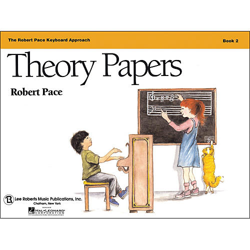 Hal Leonard Theory Papers Book 2, Piano Revised, The Robert Pace Keyboard Approach-thumbnail