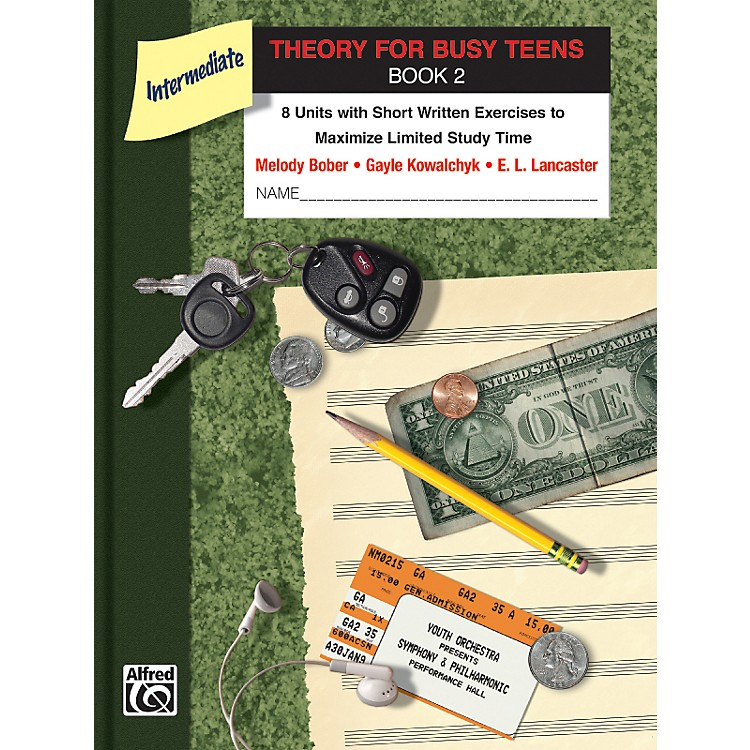 Alfred Theory for Busy Teens Book 2