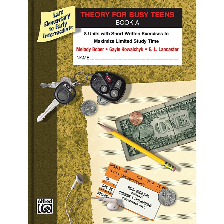 AlfredTheory for Busy Teens Book A