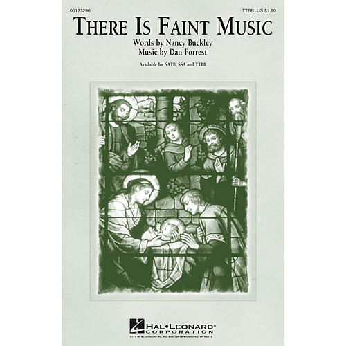 Hal Leonard There Is Faint Music TTBB composed by Dan Forrest-thumbnail