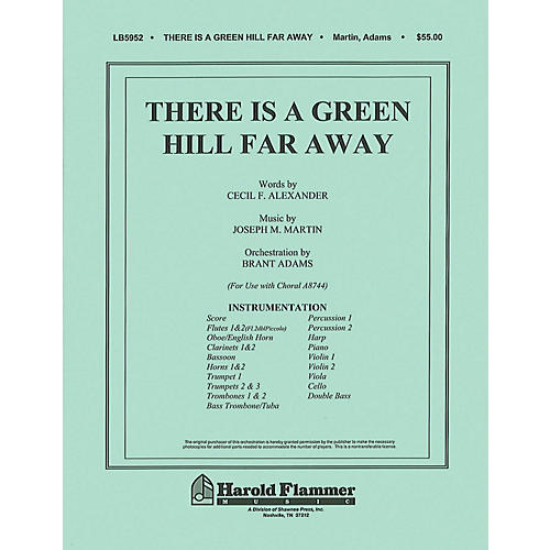 Shawnee Press There Is a Green Hill Far Away (Orchestration) Score & Parts arranged by Joseph M. Martin-thumbnail