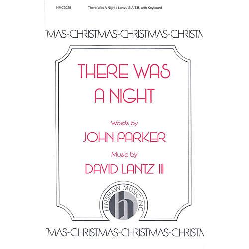 Hinshaw Music There Was a Night SATB composed by David Lantz III-thumbnail