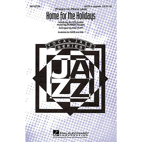 Hal Leonard (There's No Place Like) Home for the Holidays (SATB a cappella) SATB a cappella arranged by Mac Huff-thumbnail