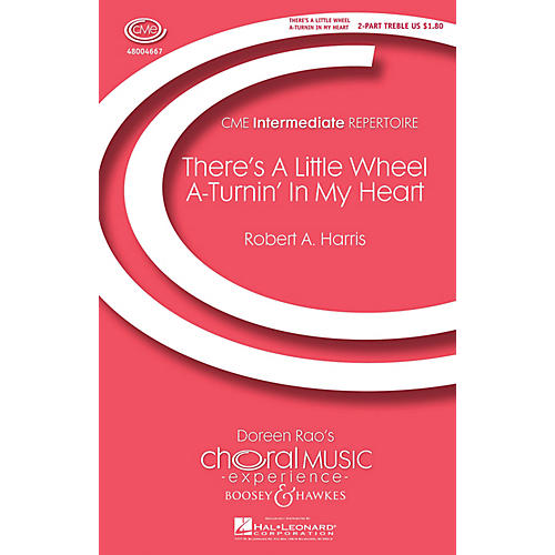 Boosey and Hawkes There's a Little Wheel a-Turnin' in My Heart (No. 1 from Four Spirituals) 2-Part by Robert A. Harris-thumbnail