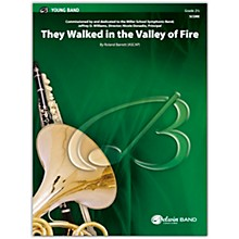 BELWIN They Walked in the Valley of Fire Conductor Score 2.5 (Easy to Medium Easy)