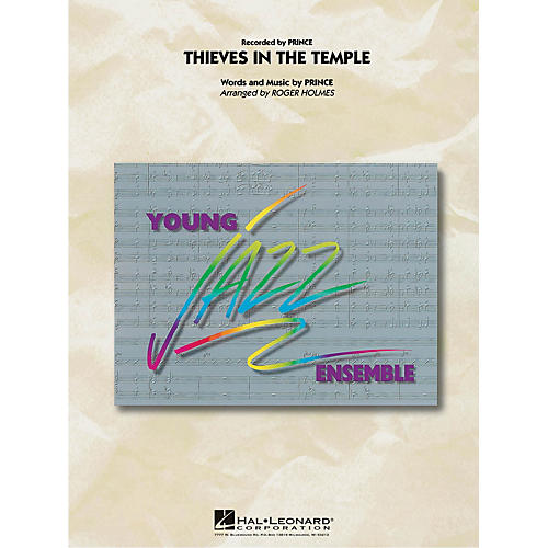 Hal Leonard Thieves in the Temple Jazz Band Level 3 by Prince Arranged by Roger Holmes