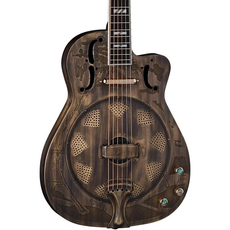DeanThinbody Cutaway Acoustic-Electric Resonator GuitarHeirloom Brass