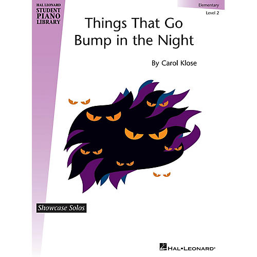 Hal Leonard Things That Go Bump in the Night Piano Library Series by Carol Klose (Level Elem)-thumbnail