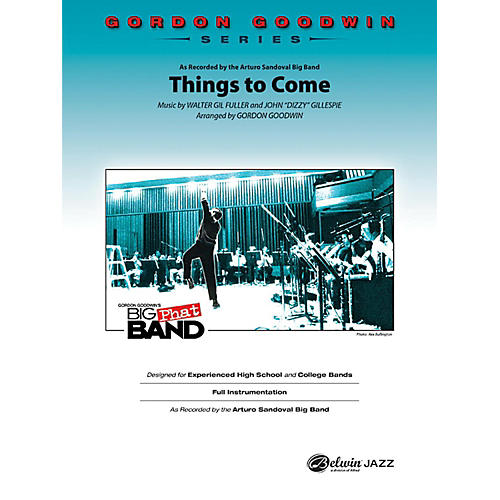 Alfred Things to Come Gordon Goodwin Jazz Band Grade 6 Set-thumbnail