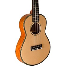 Open Box Lanikai Thinline Solid Spruce Top TunaUke Equipped Tenor Ukulele