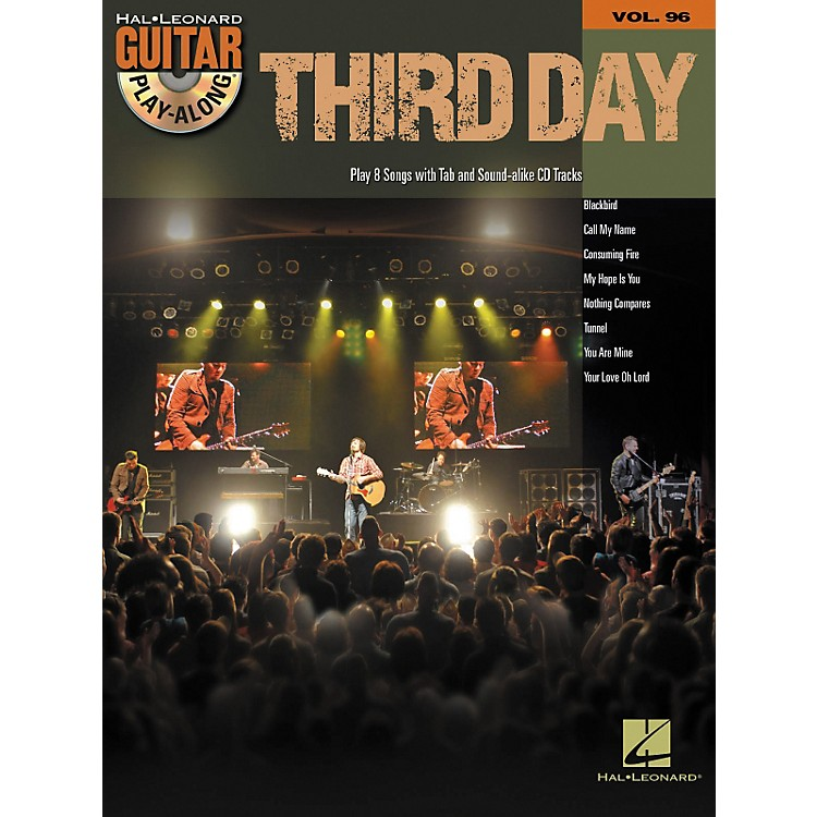 Hal Leonard Third Day - Guitar Play-Along, Volume 96 (CD/Book)