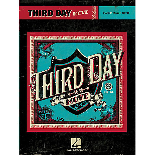 Hal Leonard Third Day - Move PVG Songbook-thumbnail