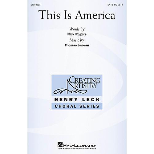 Hal Leonard This Is America SATB composed by Thomas Juneau-thumbnail
