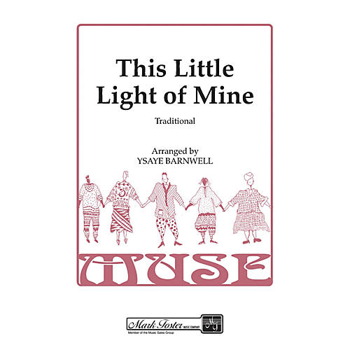 Shawnee Press This Little Light of Mine SSAA A Cappella arranged by Ysaye Barnwell-thumbnail
