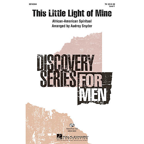 Hal Leonard This Little Light of Mine VoiceTrax CD Arranged by Audrey Snyder-thumbnail