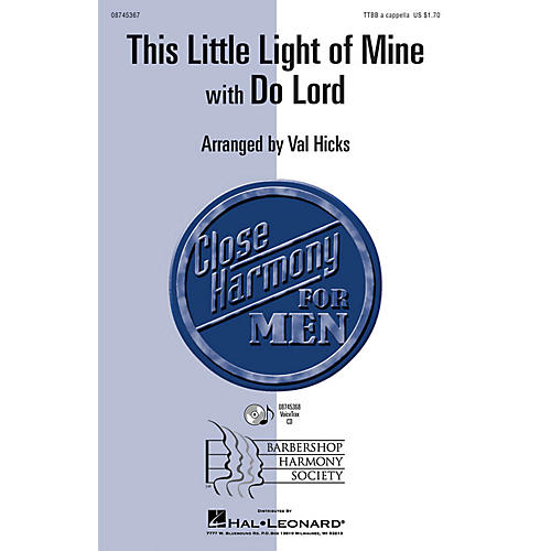 Hal Leonard This Little Light of Mine with Do Lord VoiceTrax CD Arranged by Val Hicks-thumbnail