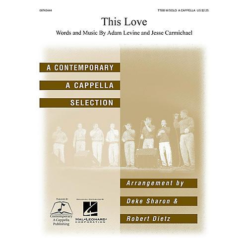 Hal Leonard This Love TTBB Div A Cappella arranged by Deke Sharon and Anne Raugh-thumbnail