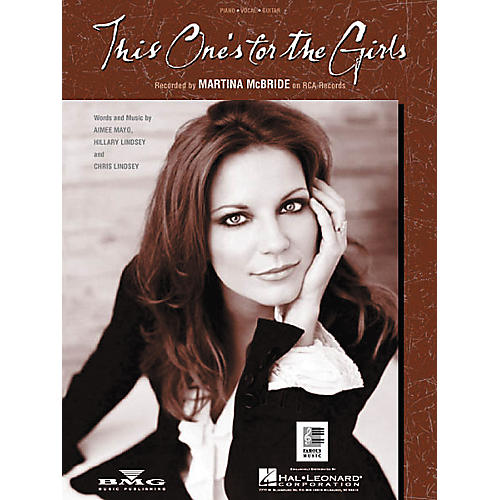 Hal Leonard This One's for the Girls Piano/Vocal/Guitar Songbook