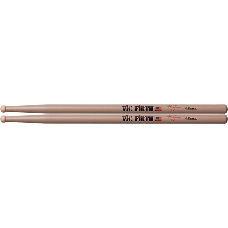 Vic FirthThom Hannum Corpsmaster Marching DrumsticksWood