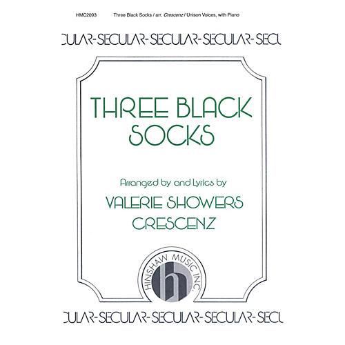 Hinshaw Music Three Black Socks UNIS composed by Valerie Crescenz-thumbnail
