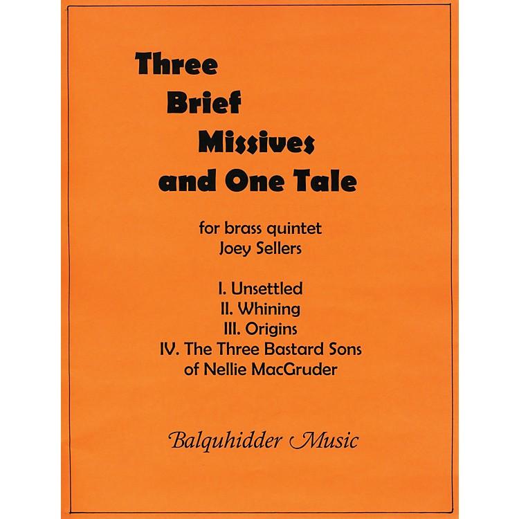 Carl FischerThree Brief Missives Book