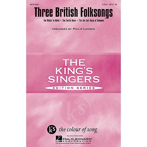 Hal Leonard Three British Folksongs 2-Part arranged by Philip Lawson-thumbnail