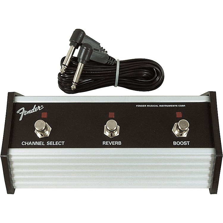Fender Three Button Footswitch for Pro 185 Amp