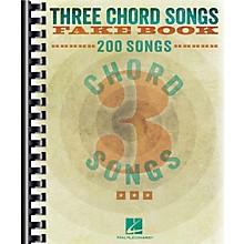 Hal Leonard Three Chord Songs Fake Book