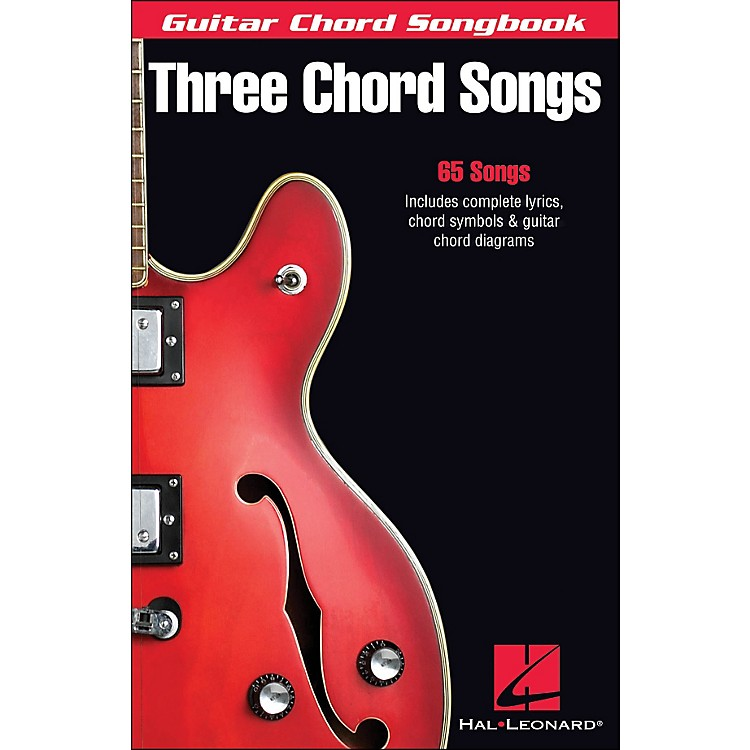 Hal Leonard Three Chord Songs Guitar Chord Songbook