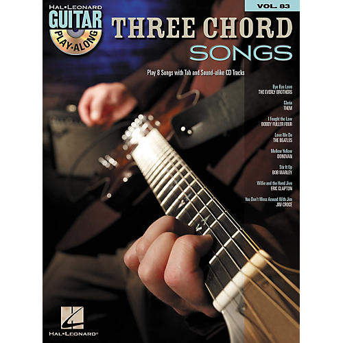 Hal Leonard Three Chord Songs: Guitar Play-Along, Volume 83 (Book/CD)