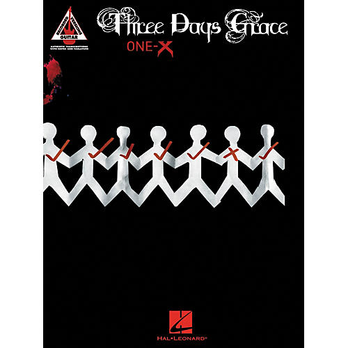 Hal Leonard Three Days Grace - One-X Guitar Tab Songbook