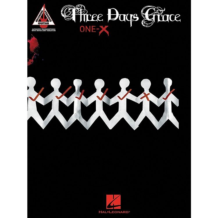 Hal LeonardThree Days Grace - One-X Guitar Tab Songbook