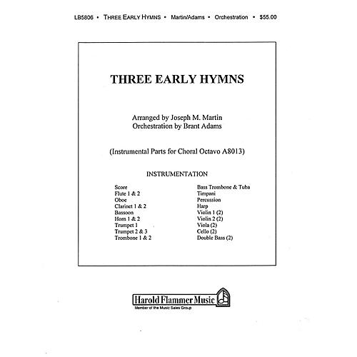 Shawnee Press Three Early Hymns (from The Legacy of Faith) Score & Parts arranged by Joseph M. Martin