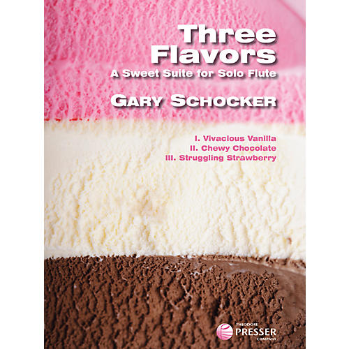 Theodore Presser Three Flavors (Book)