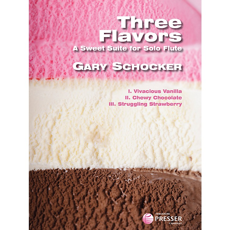 Theodore PresserThree Flavors (Book)