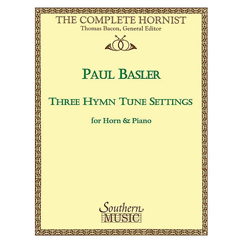 Southern Three Hymn Tune Settings (Horn) Southern Music Series Arranged by Paul Basler-thumbnail