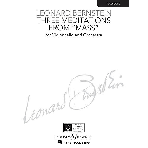 Boosey and Hawkes Three Meditations from Mass Boosey & Hawkes Scores/Books Series Composed by Leonard Bernstein