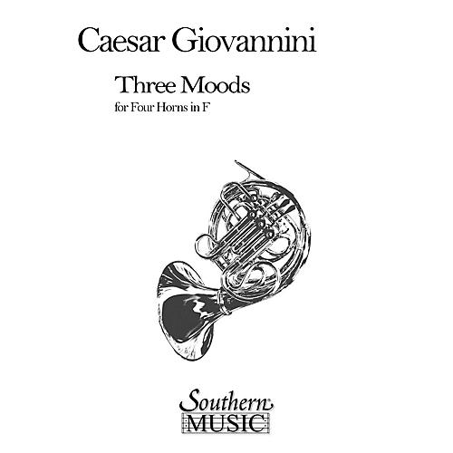 Southern Three Moods (Horn Quartet) Southern Music Series Composed by Cesar Giovannini-thumbnail