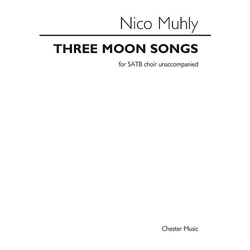Music Sales Three Moon Songs SATB a cappella Composed by Nico Muhly-thumbnail