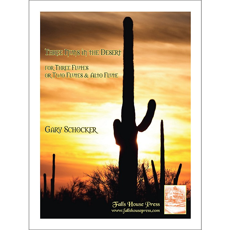 Theodore PresserThree Nuns In The Desert (Book)