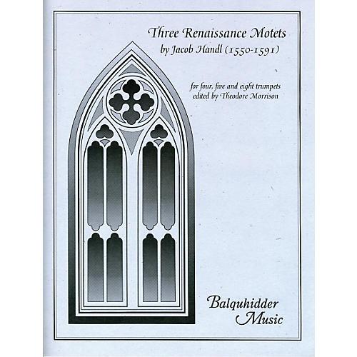 Carl Fischer Three Renaissance Motets Book-thumbnail