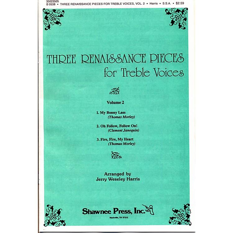 Hal LeonardThree Renaissance Pieces Vol. 2 SSA