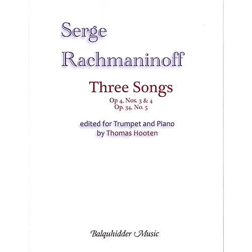 Carl Fischer Three Songs Book-thumbnail