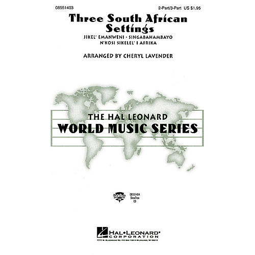 Hal Leonard Three South African Settings (Collection) 3 Part Treble arranged by Cheryl Lavender-thumbnail