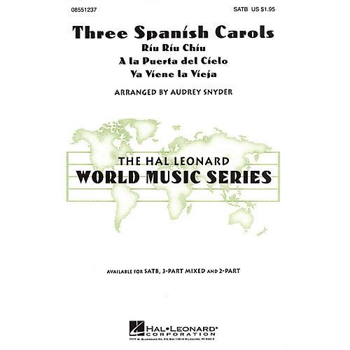 Hal Leonard Three Spanish Carols 2-Part Arranged by Audrey Snyder