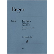 G. Henle Verlag Three Suites for Viola Solo Op. 131D By Reger