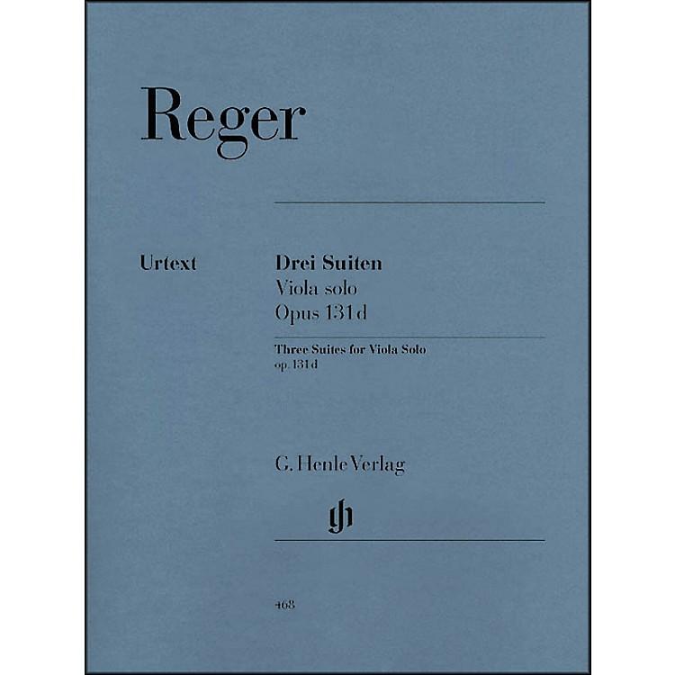 G. Henle VerlagThree Suites for Viola Solo Op. 131D By Reger