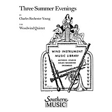 Southern Three Summer Evenings (Woodwind Quintet) Southern Music Series by Charles Rochester Young