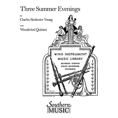 Southern Three Summer Evenings (Woodwind Quintet) Southern Music Series by Charles Rochester Young-thumbnail