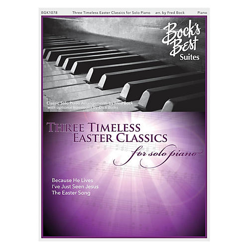 Fred Bock Music Three Timeless Easter Favorites For Solo Piano PIANO SOLO arranged by Fred Bock-thumbnail